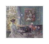 Improvisation, 1899 Giclee Print by Childe Hassam