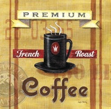 Premium Coffee French Roast Prints by Angela Staehling
