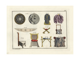 Anglo Saxon Accessories and Furniture Giclee Print by Robert von Spalart