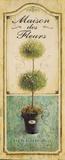 Maison Topiary Poster par Angela Staehling