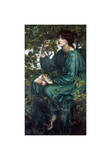 The Day Dream, 1880 Giclee Print by Dante Gabriel Rossetti