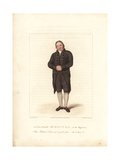 William Dowton in the Hypocrite, 1822 Giclee Print by Samuel de Wilde