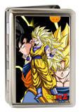 Dragon Ball Z - Goku Close-Up Poses Large Business Card Holder Novelty