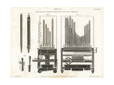 Pipe Organ Built by Flight and Robson Giclee Print by J. Farey