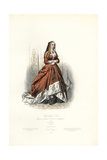 Elisabeth of York, Wife of King Henry VII of England Giclee Print by Polydor Pauquet