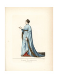 Noble Woman of Florence, 14th Century Giclee Print by Paul Mercuri