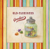 Old-Fashioned Candy Prints by Angela Staehling
