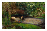 Ophelia, ca. 1851 Giclee Print by John Everett Millais