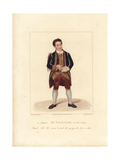 James Wilkinson in Free and Easy, 1822 Giclee Print by George Clint