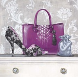 Fashionably Prepared Plum Prints by Angela Staehling