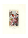 Federico da Montefeltro, Duke of Urbino, 15th Century Giclee Print by Paul Mercuri
