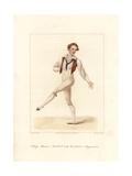 Etienne Le Blond, Ballet Dancer, 1822 Giclee Print by Frederic de Waldeck