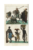African and Arab Peoples Giclee Print
