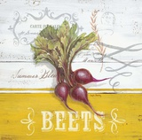 Farmers Market Beets Print by Angela Staehling