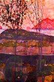 Egon Schiele Underground Sun Prints