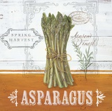 Farmers Market Asparagus Prints by Angela Staehling