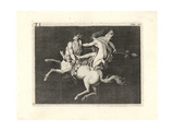 Bacchant Subduing a Charging Centaur Giclee Print by Tommaso Piroli
