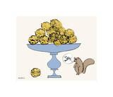 So Nutty Giclée-tryk af Andy Warhol