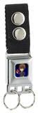 Death Note - Chibi Light Seatbelt Buckle Keychain Keychain