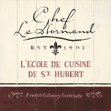 Chef Le Normand Prints by Angela Staehling