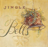 Jingle Bells Art by Angela Staehling