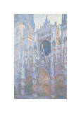 Rouen Cathedral, West Façade, 1894 Giclee Print by Claude Monet
