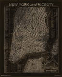 Vintage NYC Map Posters