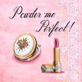 Powder Me Perfect Print by Angela Staehling