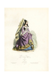 Marie De Bourgogne, Wife to Archduc Maximilien, 1477 Giclee Print by Polydor Pauquet