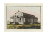 Temple of Diana at Ephesus Giclee Print by Robert von Spalart