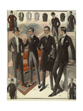 Men in Evening Wear from the 1920s Giclee Print