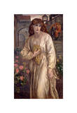 Salutation of Beatrice, 1880-82 Giclee Print by Dante Gabriel Rossetti