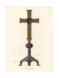 Reliquary Cross Giclee Print by Jakob Heinrich Hefner-Alteneck