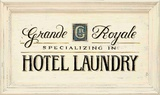 Hotel Laundry Posters by Angela Staehling