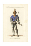 Jean Le Bon, John II, King of France, Battle Armor, 1319-1364 Giclee Print by Leopold Massard