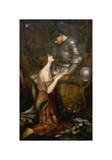 Lamia Giclee Print by J.W. Waterhouse