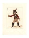 Samuel Simmons in Harlequin Munchausen, 1822 Giclee Print by Samuel de Wilde