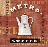Metro Coffee Posters by Angela Staehling