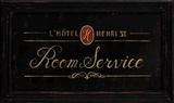 Room Service Print by Angela Staehling