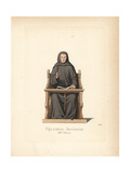 Lanfranco Septala, Augustine Monk, 1243 Giclee Print by Paul Mercuri