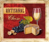 Artisanal Wine & Cheese Prints by Angela Staehling
