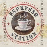 Espresso Station Art by Angela Staehling