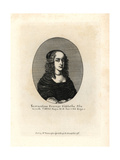 Princess Elizabeth, Second Daughter of King Charles I Giclee Print by Wenceslas Hollar