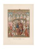 Charles the Bald Giclee Print by Jakob Heinrich Hefner-Alteneck