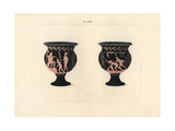Campana, Bell-Shaped Vase, with Erotic Scenes Giclee Print by A. Delvaux