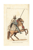 Knight Templar in Combat Uniform, 13th Century Giclee Print by Leopold Massard
