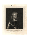 Thomas Saunders De Ireton, Com Derby Colonel for the Parliament Giclee Print by Balthasar Flessiers