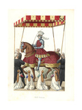 King Louis XII of France, 16th Century Giclee Print by Edmond Lechevallier-Chevignard