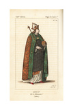 Louis I, the Pious, the Fair, King of Aquitaine Giclee Print by Leopold Massard