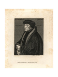 Dr John Chambers, Physician to King Henry VIII Giclee Print by Hans Holbein the Younger